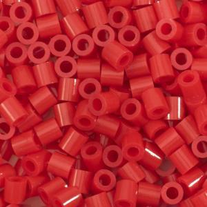 1.100 perline Vaessen MIDI - Rosso 07 pyssla