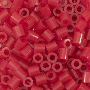 1.100 perline Vaessen MIDI - Rosso Cardinale 08 Pyssla