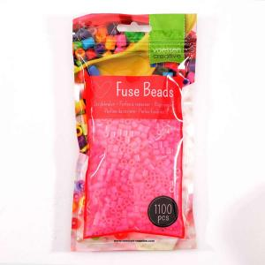 1.100 perline Vaessen MIDI - Rosa Neon 27