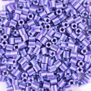 550 Perline Vaessen MIDI -  bicolore celeste - viola
