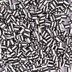 550 Perline Vaessen MIDI -  bicolore bianco - nero