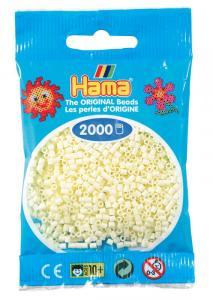 Hama beads MINI 2000 pezzi Crema n.2