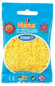 Hama beads MINI 2000 pezzi Giallo n.3