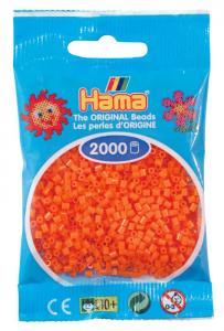 Hama beads MINI 2000 pezzi Arancione n.4