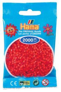 Hama beads MINI 2000 pezzi Rosso n.5