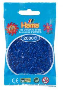 Hama beads MINI 2000 pezzi Blu n.8