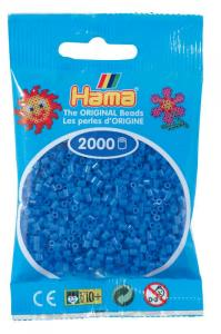 Hama beads MINI 2000 pezzi Blu medio n.9