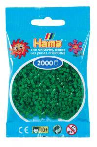 Hama beads MINI 2000 pezzi Verde n.10