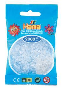 Hama beads MINI 2000 pezzi Trasparente n.19