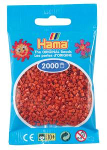 Hama beads MINI 2000 pezzi Marrone rossastro n.20
