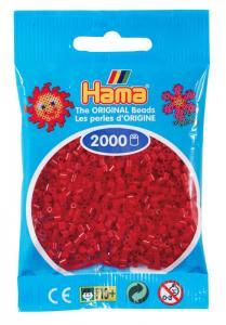Hama beads MINI 2000 pezzi Rosso Scuro n.22