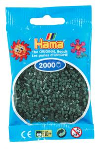 Hama beads MINI 2000 pezzi Verde scuro n.28