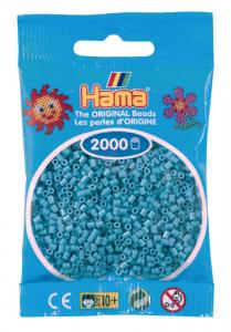 Hama beads MINI 2000 pezzi Turchese scuro n.31