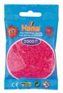 Hama beads MINI 2000 pezzi Fucsia neon n.32