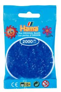 Hama beads MINI 2000 pezzi Blu neon n.36