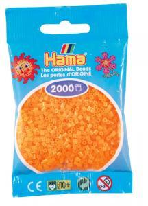 Hama beads MINI 2000 pezzi - Arancione neon n.38