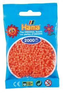 Hama beads MINI 2000 pezzi - Rosso pastello n.44