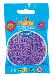 Hama beads MINI 2000 pezzi - Viola pastello n.45