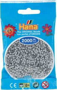 Hama beads MINI 2000 pezzi - Grigio chiaro n.70