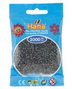 Hama beads MINI 2000 pezzi Grigio scuro n.71