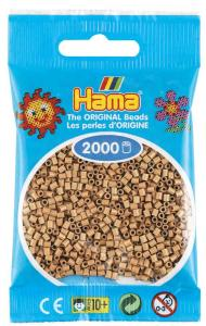 Hama beads MINI 2000 pezzi Marrone mandorla n.75