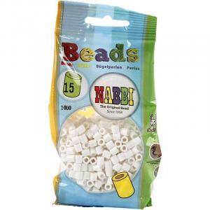 Nabbi beads 1100 p. - colore bianco 15
