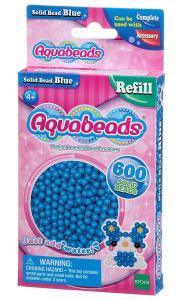 Ricarica Aquabeads - 600 Perline circolari Blu