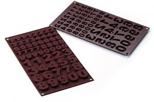 Stampo in silicone - Choco 123