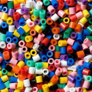 Barattolo Hama Beads Midi 3000 perline (10 colori)