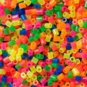 Barattolo Hama Beads Midi 3000 pezzi misto neon