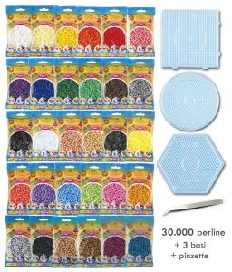 assortimento hama beads midi 30 bustine