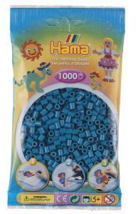 Hama Beads Midi 1000 pezzi - Blu petrolio n.83