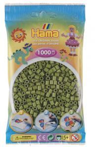 Hama Beads Midi 1000 pezzi - Verde oliva scuro n.84