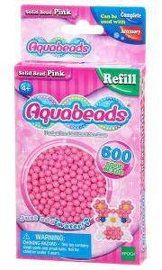 Ricarica Aquabeads - 600 Perline circolari Rosa