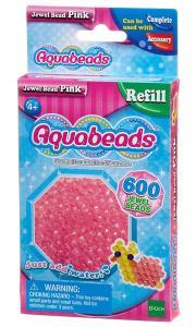 Ricarica Aquabeads - 600 Perline sfaccettate Rosa