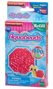 Ricarica Aquabeads - 600 Perline sfaccettate Rosse