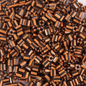 550 Perline Vaessen MIDI -  bicolore giallo ocra - nero