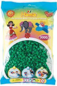 Hama Beads Midi 3000 pezzi Verde n.10