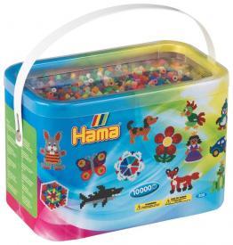 202-68 Hama Beads pyssla 10000 pezzi - 50 colori