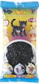 Hama Beads Midi 6000 pezzi - Nero  n.18