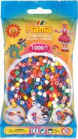 Hama Beads midi 1000 pezzi - pyssla 10 colori