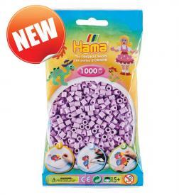 Hama beads Pyssla 207-96 colore nuovo lilla