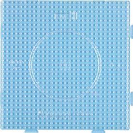 Base per perline - Quadrato grande trasparente