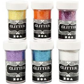 Glitter 6 colori