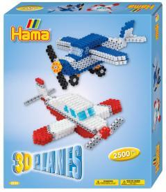 Confezione regalo hama beads - Aeroplani 3D
