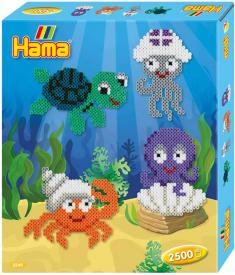Kit creativo creature marine Hama Beads Midi