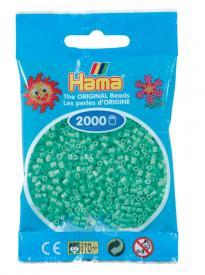 Hama beads MINI 2000 pezzi Verde chiaro n.11