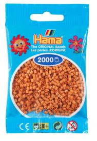 Hama beads MINI 2000 pezzi Marrone chiaro n.21