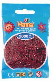Hama beads MINI 2000 pezzi Bordeaux n.30