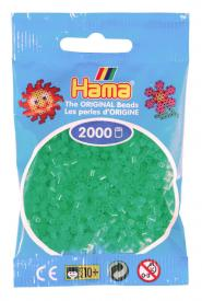 Hama beads MINI 2000 pezzi - Verde neon n.37